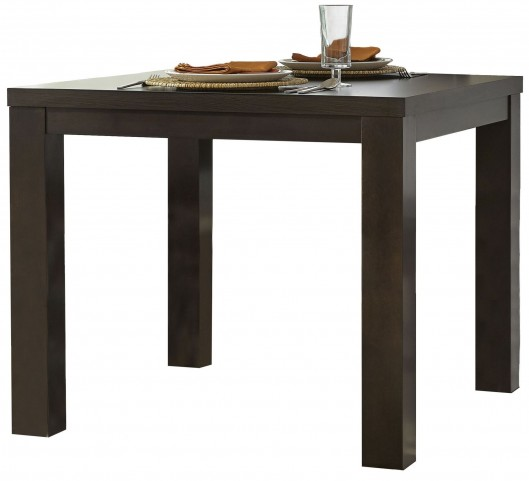 Athena Dark Chocolate Square Dining Table