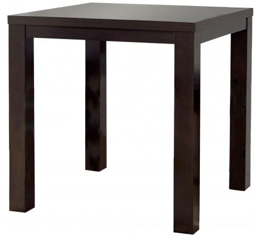 Athena Dark Chocolate Square Counter Height Dining Table