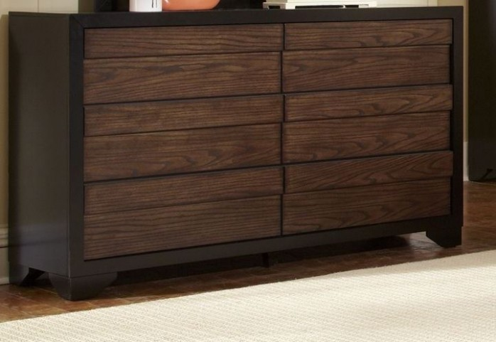 Echo Dark Drawer Dresser