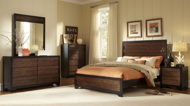 Echo Dark Bedroom Set