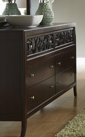 Links Chocolate Drawer Dresser