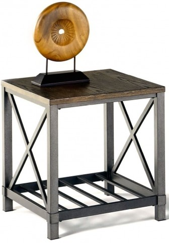 Oak Hill Wire Rectangular End Table