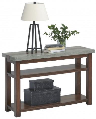 Cascade Nutmeg Birch Sofa/Console Table