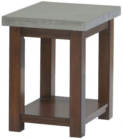 Cascade Nutmeg Birch Chairside Table
