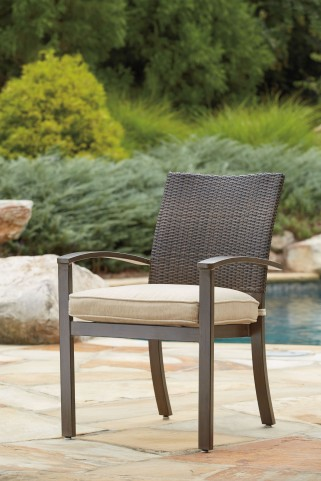 Moresdale Brown Chair Set of 4