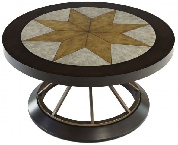 Stargaze Concrete Round Cocktail Table