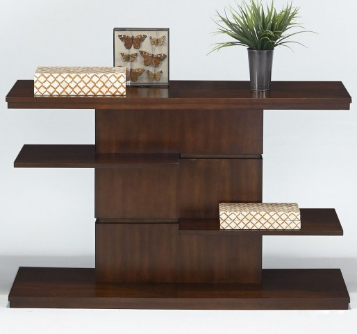 Waterfall Bright Medium Birch Sofa/Console Table