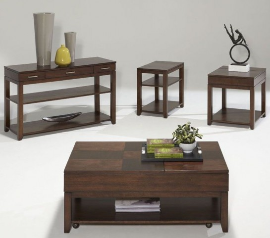 Daytona Regal Walnut Occasional Table Set