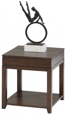 Daytona Regal Walnut Rectangular End Table