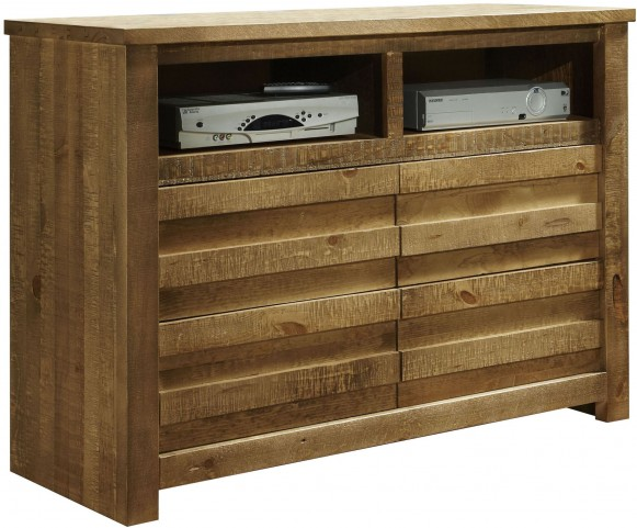 Melrose Driftwood Media Chest