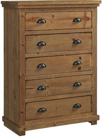 Willow Distressed Pine Chest