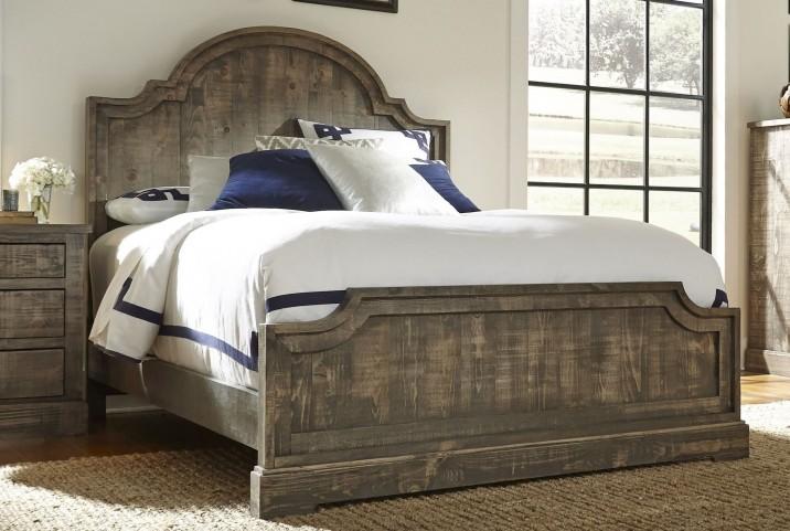Meadow Weathered Gray Panel Bedroom Set