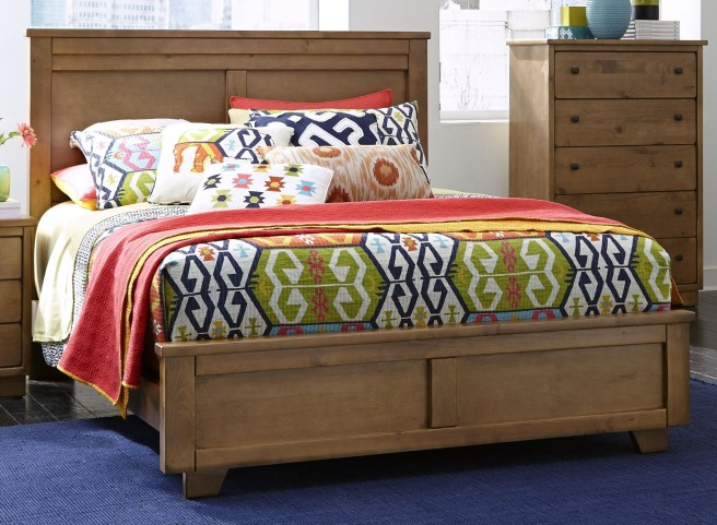 Diego Dune King Panel Bed