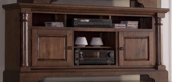 "Gramercy Park Natural Nutmeg 64"" Console"