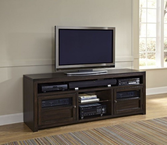"Triumph Walnut Brown 74"" Console"