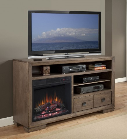"Mulholland Antler 60"" Console/Fireplace"