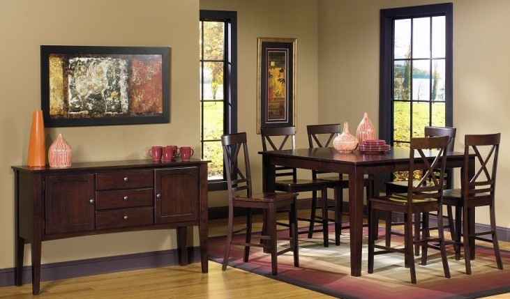 Winston Espresso Winston Counter Dining Room Set