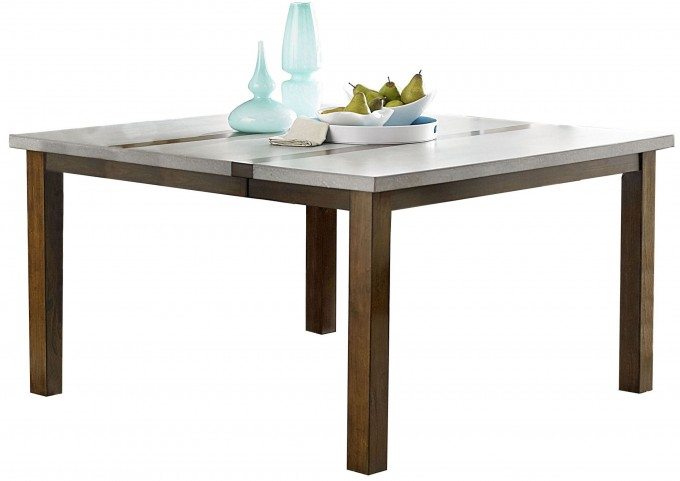 Cascade Nutmeg and Cement Dining Table