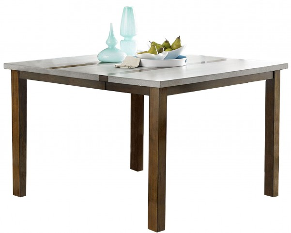 Cascade Nutmeg and Cement Counter Height Dining Table