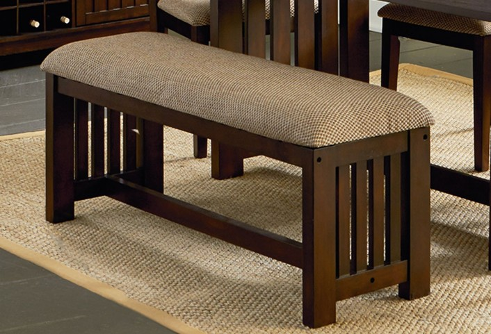 Kennedy Bruno Brown Dining Bench