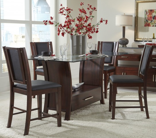 Avalon Sable Counter Height Dining Room Set
