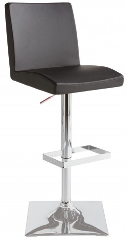 Pacifico Black Adjustable Barstool