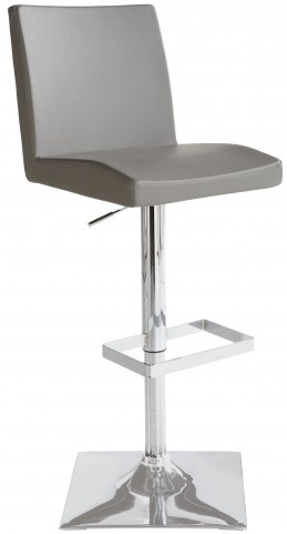 Pacifico Grey Adjustable Barstool