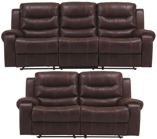 Brahms Cowboy Dual Reclining Living Room Set