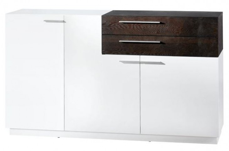 Palma White Gloss Lacquer Sideboard