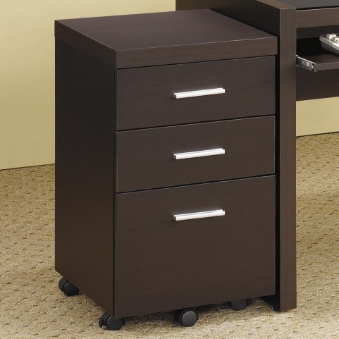Skylar Cappuccino File Cabinet