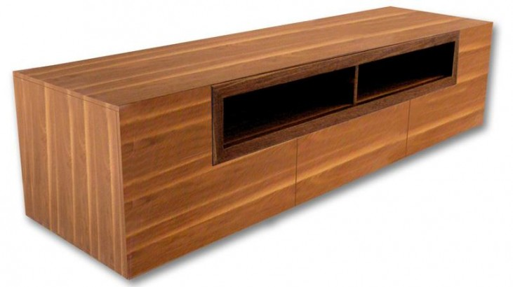 Patta-2 Walnut TV Stand
