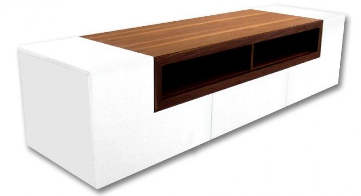 Patta White TV Stand