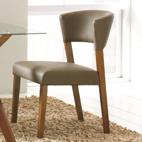 Paxton Gray Upholstered Dining Chair Set of 2