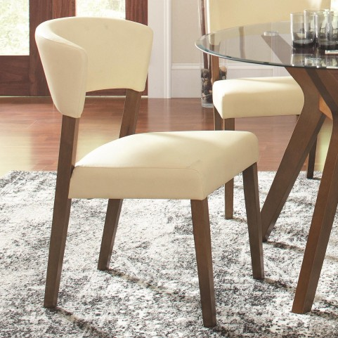 Paxton Cream Upholstered Dining Chair Set of 2