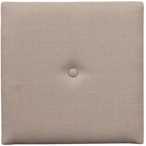 """Prairie Linen Natural 1"""" Wall Pixel I with Button"""