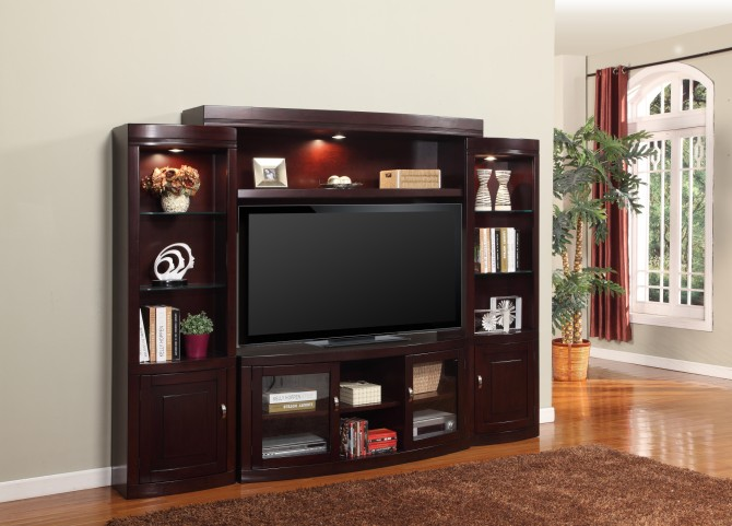 "Premier Biscayne 60"" Entertainment Wall Unit"