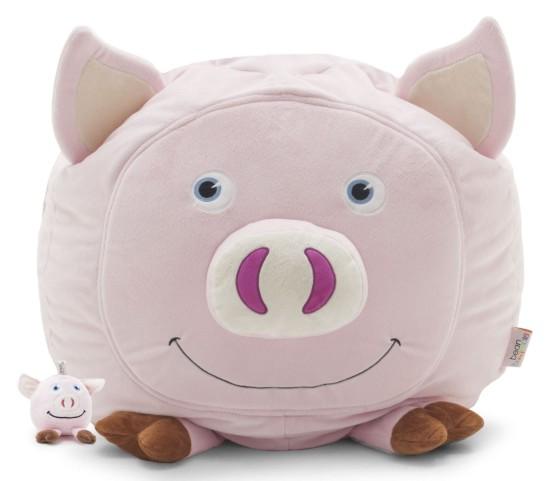 Big Joe Penelope the Pig with Lil Buddy Short Fur Bagimal