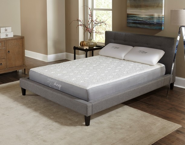 "8.5"" Gel Memory Foam Queen Mattress"