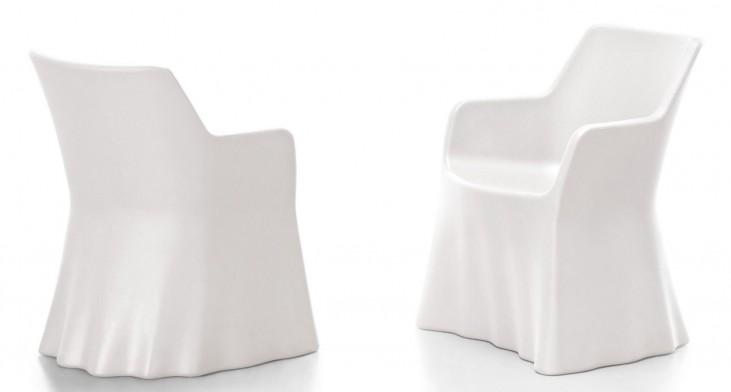 Phantom White Armchair