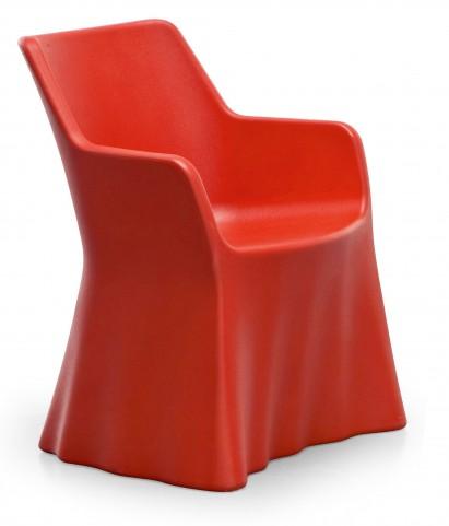 Phantom Red Polyethylene Armchair