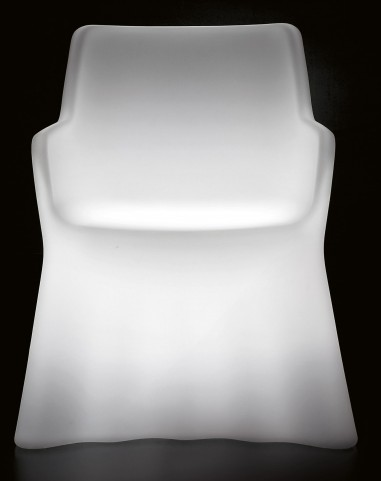 Phantom Translucent Polyethylene Armchair