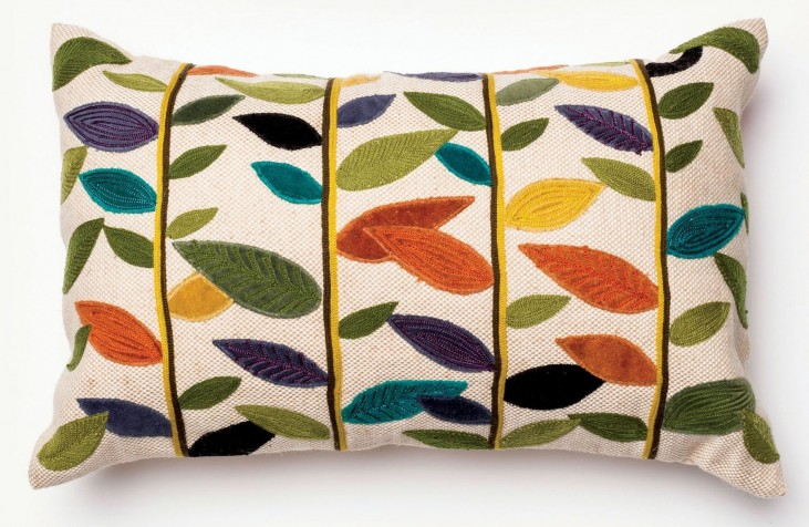 Carol Multi-Color Rectangular Pillow