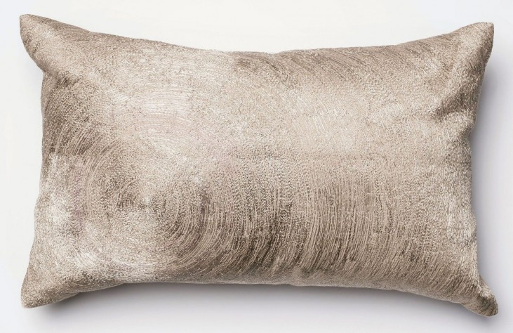 Fiona Beige Rectangular Pillow