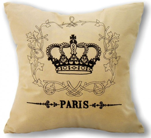 "Tudor Crown 18"" Pillow Set of 8"