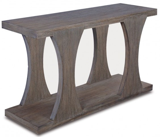 Palmer Driftwood Console Table