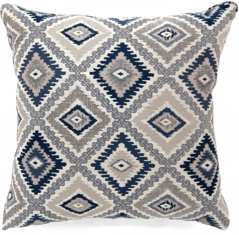 "Deamund Blue 22"" Pillow Set of 2"