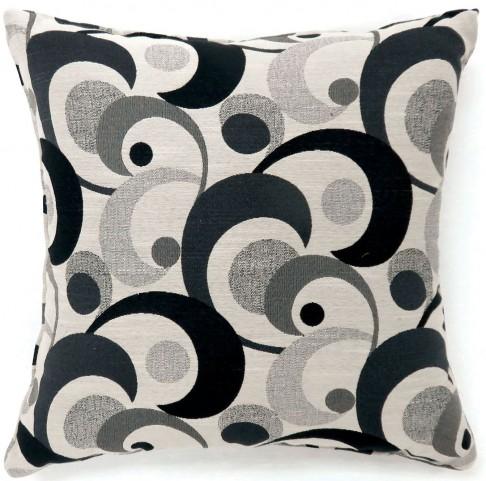 "Swoosh Black 18"" Pillow Set of 2"