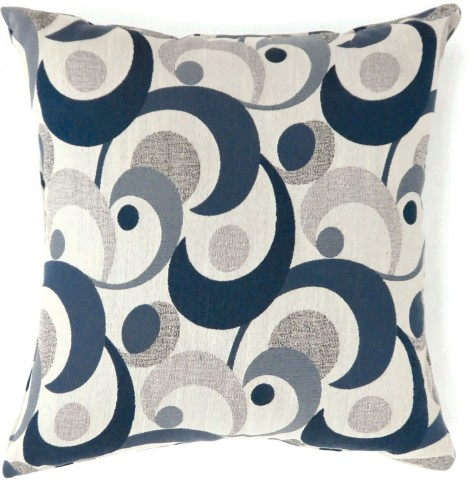 "Swoosh Blue 18"" Pillow Set of 2"