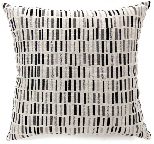 "Pianno Black 18"" Pillow Set of 2"