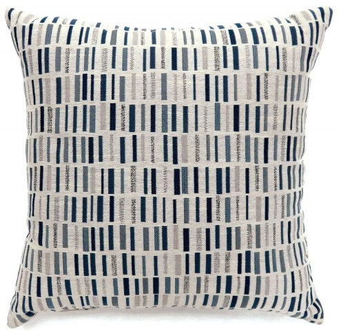 "Pianno Blue 22"" Pillow Set of 2"